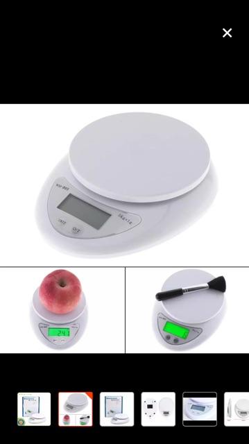 Cân điện tử mini nhà bếp 5kg Dụng Cụ Nhà Bếp