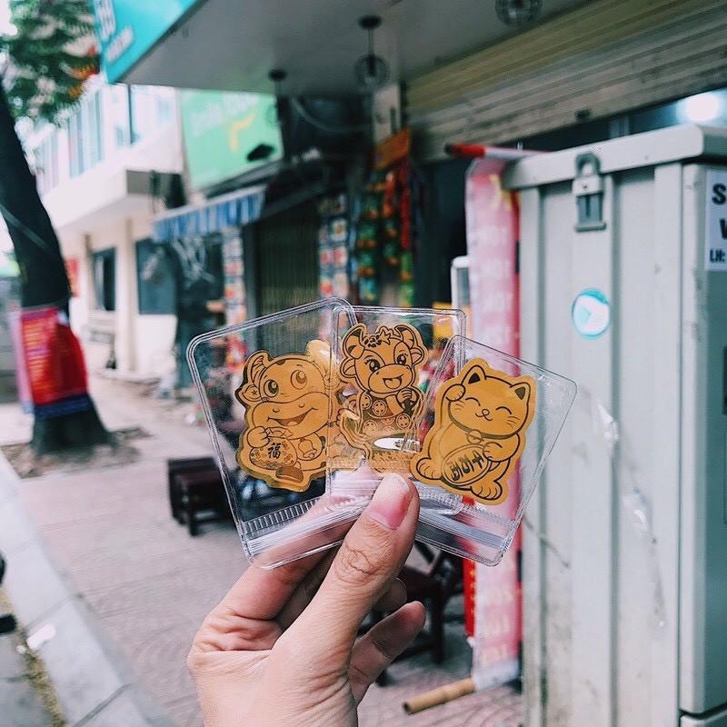 [ HOT ]Trâu vàng mèo thần tài hút vận may tài lộc