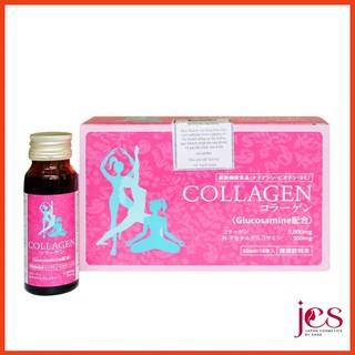 [Siêu Rẻ] Hộp 5 Chai Nước Uống Đẹp Da TKK Collagen 5000mg Glucosamine 300mg