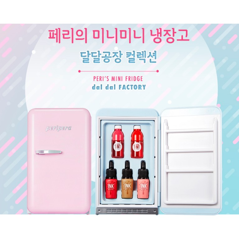 Set son Mini Ink Peripera phiên bản tủ lạnh 2018