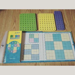Sudoku gắn nam châm 3+, 3 cấp độ chơi