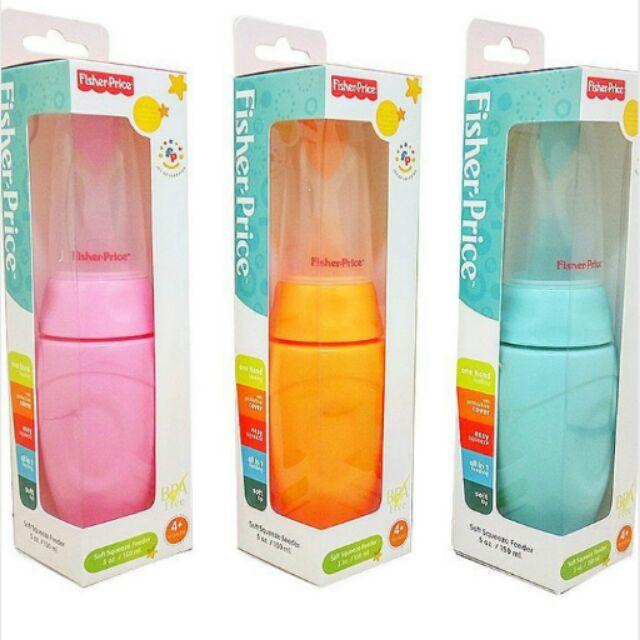 Bình thìa ăn dặm nhựa mềm Fisher price 150ml FP201240