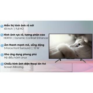 Smart Tivi Sony 43 inch KDL-43W660G.FULLBOX( Hàng tồn kho Bảo hành chính hãng 2 năm)