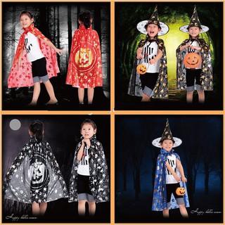 Combo áo choàng và mũ phù thủy hóa trang halloween giá sỉ dochoihay