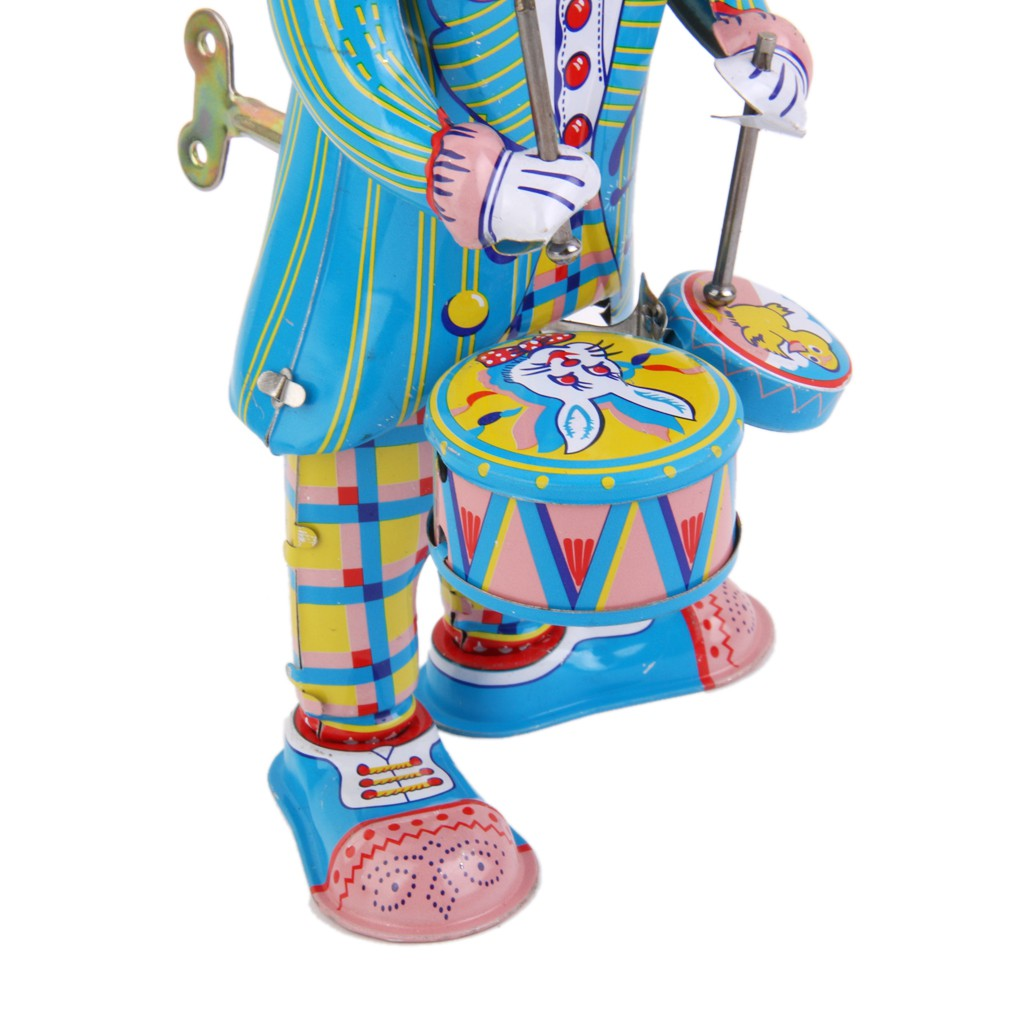 Bubble Shop61 Vintage Wind Up Clockwork Robot Vehicle Animals Tin Toys Party Favor Collectible
