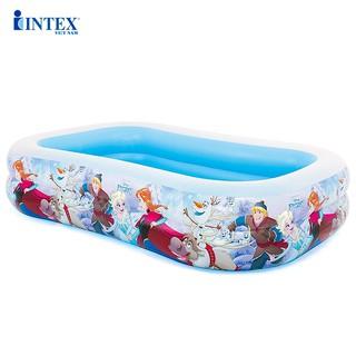 Bể bơi phao nữ hoàng băng giá Frozen 262x175x56 cm INTEX 58469