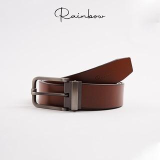 Dây nịt da chính hãng Rainbow BELT001 - Đầu gun kim sang trọng, bảo hành 10 năm. thumbnail