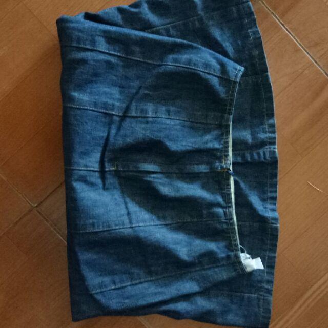 Chân váy ngọc lâm chân váy bò trẻ trung năng động cá tính, mẵc quanh năm, mặc với sơ mi, áo phông, đi giầy thể thao