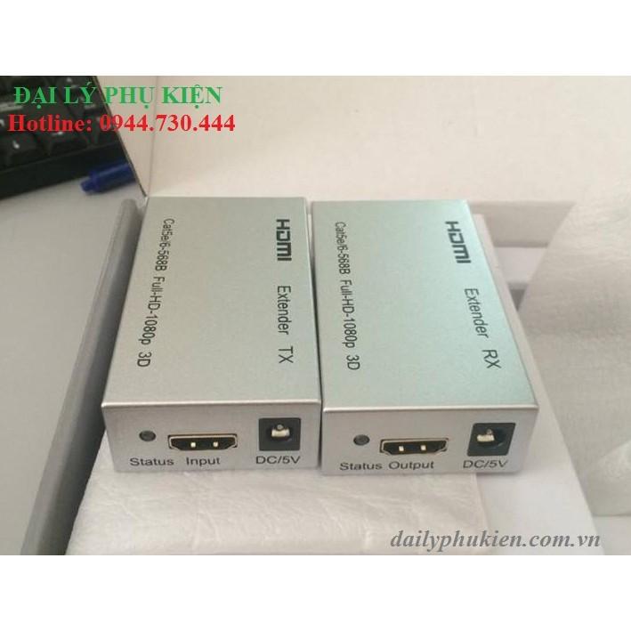 Bộ kéo dài HDMI 60m bằng cáp mạng