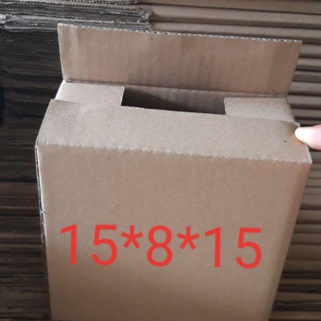 (ComBo 50) Hộp carton 15*8*15 cm, hộp  carton đóng hàng siêu rẻ tại TPHCM - 13719746 , 1388364259 , 322_1388364259 , 105000 , ComBo-50-Hop-carton-15815-cm-hop-carton-dong-hang-sieu-re-tai-TPHCM-322_1388364259 , shopee.vn , (ComBo 50) Hộp carton 15*8*15 cm, hộp  carton đóng hàng siêu rẻ tại TPHCM