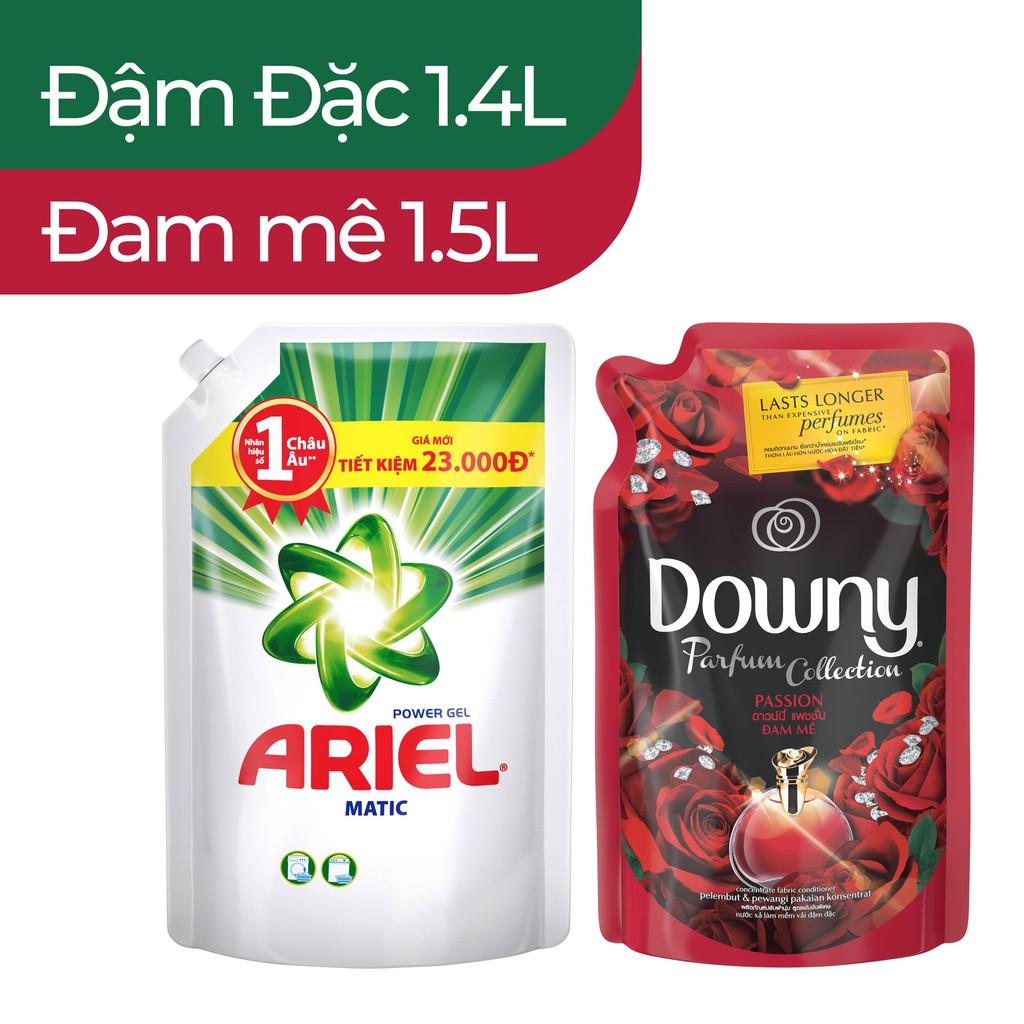 Bộ Ariel Matic 1.4L + Downy Nước Hoa1.5L