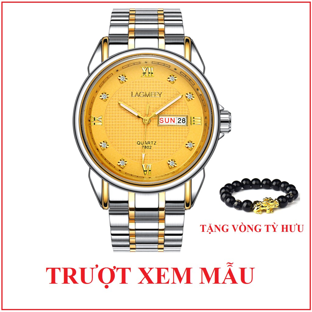 Đồng hồ nam dây thép chống gỉ LAGMEEY cao cấp - 3559806 , 1023545778 , 322_1023545778 , 400000 , Dong-ho-nam-day-thep-chong-gi-LAGMEEY-cao-cap-322_1023545778 , shopee.vn , Đồng hồ nam dây thép chống gỉ LAGMEEY cao cấp