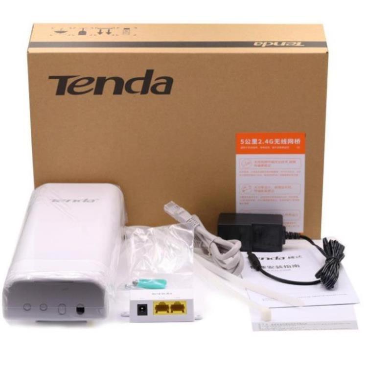 +Siêu sale+ Thiết Bị Thu Phát Wifi Tenda O3 v2 Phát Xa 5KM Ngoài Trời