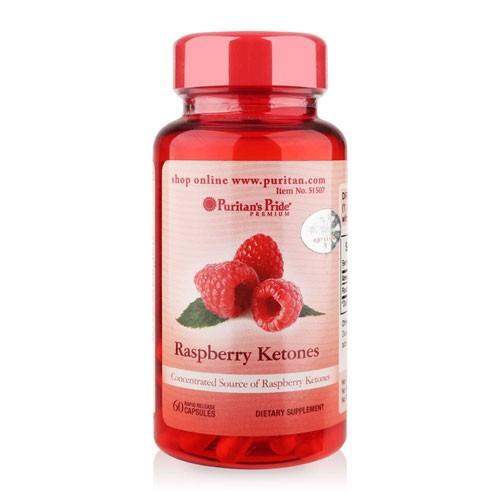 Viên uống hỗ trợ giảm cân Raspberry Ketones 60 viên
