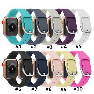 Dây đeo bằng silicon cao cấp tiện lợi dễ sử dụng cho đôngh hồ Apple Iwatch Voor Band Series 5 4 3 2 1