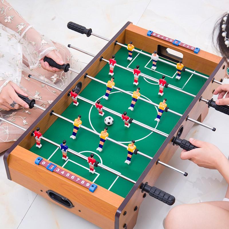 Bộ đồ chơi bàn bi lắc bóng đá mini cho bé Table Top Foosball – Tăng khả năng phản xạ cho bé