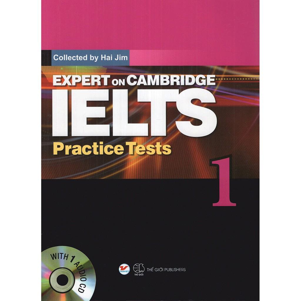 Sách - Expert On Cambridge IELTS Practice Tests 1 (Kèm CD)