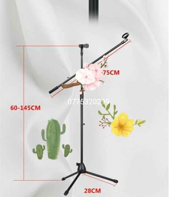 Chân đế micro đứng bom mic stand
