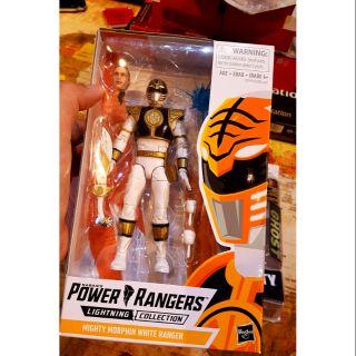 Mô hình Power ranger White Tiger của Hasbro