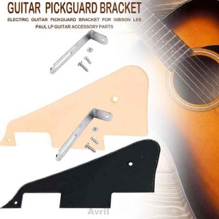 Guitar Pickguard Set Modern Professional Plastic Screws Replacement Accessories With Chrome Bracket For Gibson