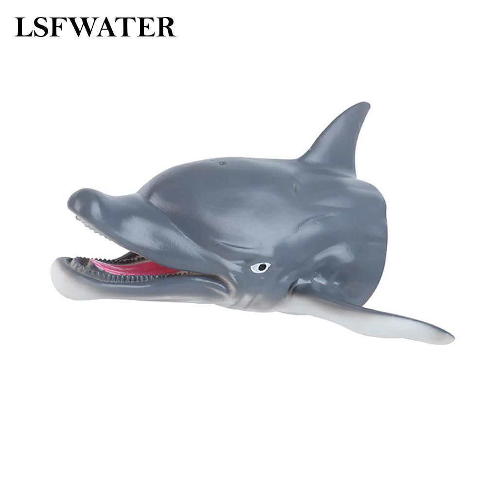 Rối tay hình động vật bằng nhựa PVC mềm không độc hại cho bé
