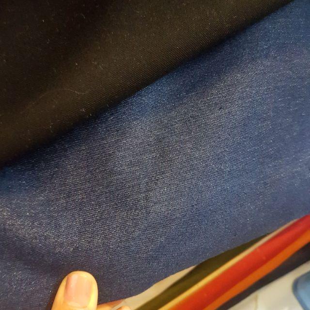 Vải bò jeans may quần có cho doll