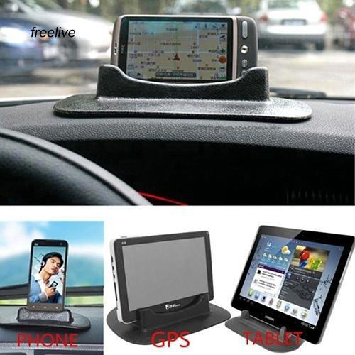 Đế đỡ điện thoại / máy tính bảng chống trượt cho xe hơi