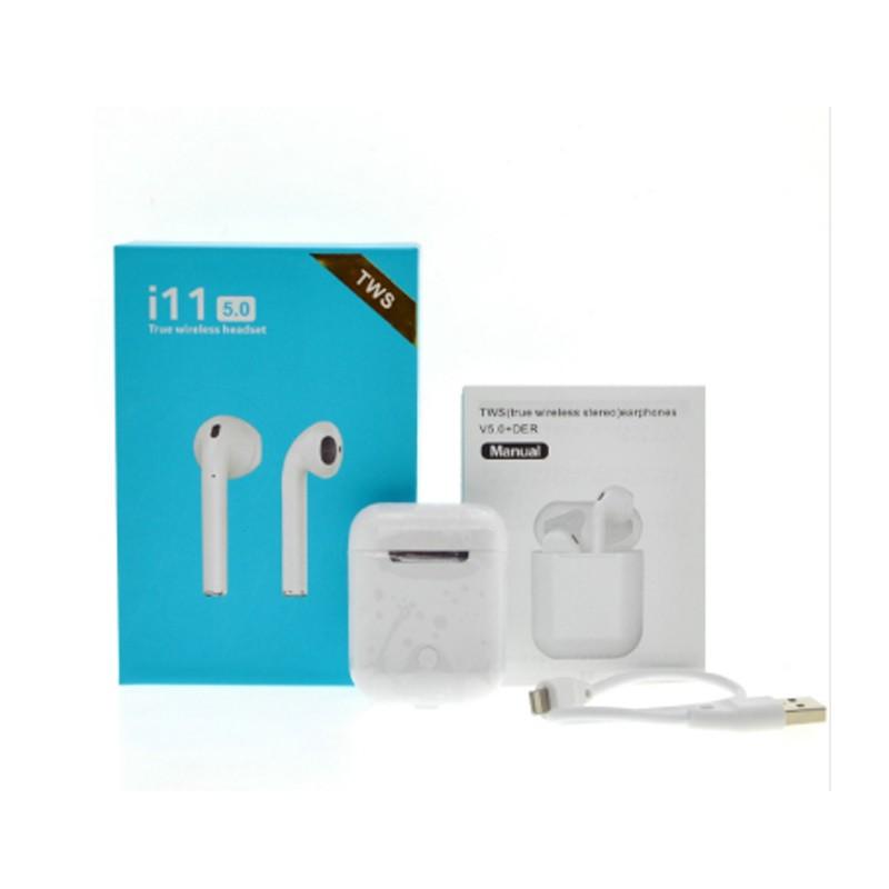 Tai nghe bluetooth không dây I11 TWS 5.0 âm thanh siêu trầm chất lượng cao