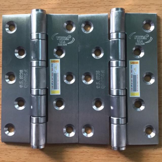 Combo cặp bản lề YEHA inox 100% chính hãng - 2897965 , 1127288454 , 322_1127288454 , 85000 , Combo-cap-ban-le-YEHA-inox-100Phan-Tram-chinh-hang-322_1127288454 , shopee.vn , Combo cặp bản lề YEHA inox 100% chính hãng
