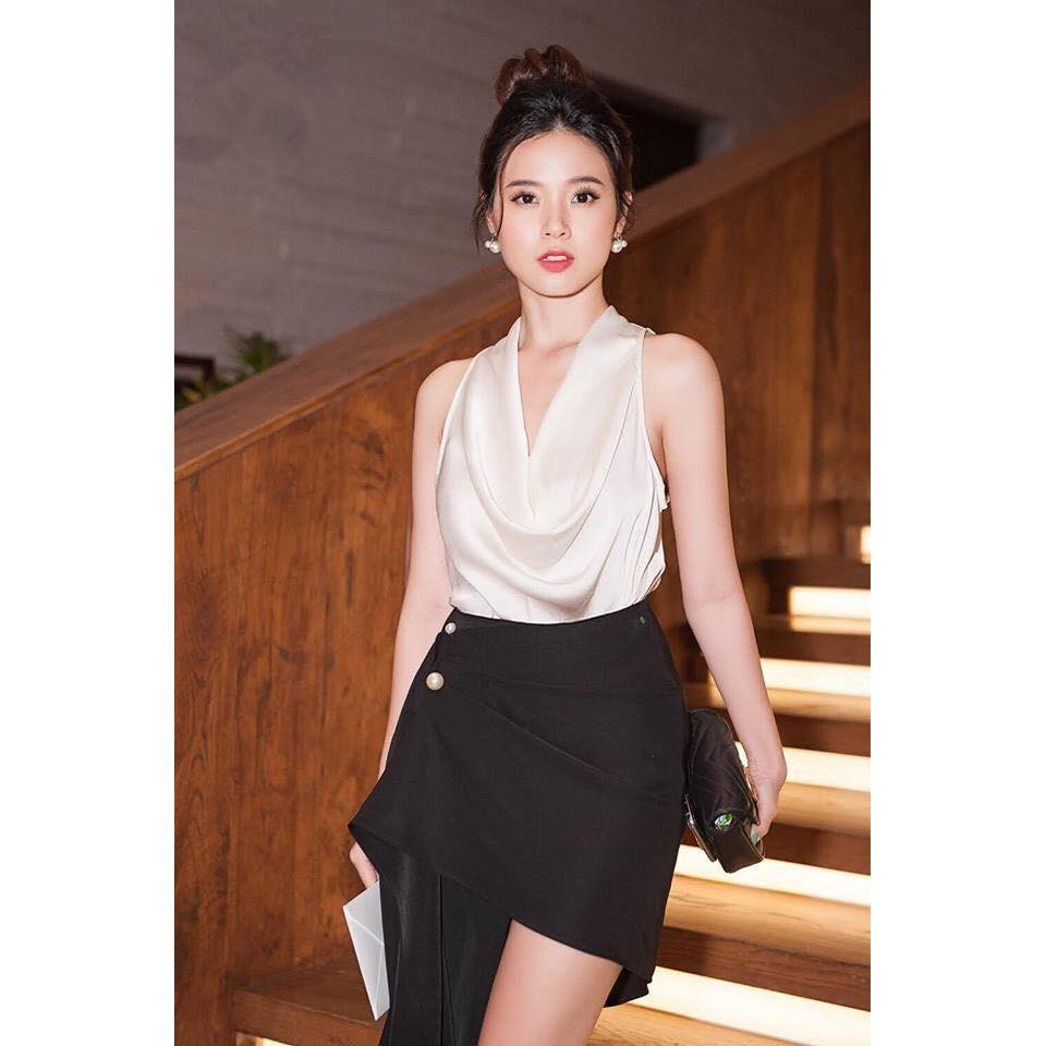 [Hàng Giảm Giá] Đầm váy đi tiệc. Set áo và chân váy quyến rũ sang trọng hàng shop cực xinh, giá rẻ