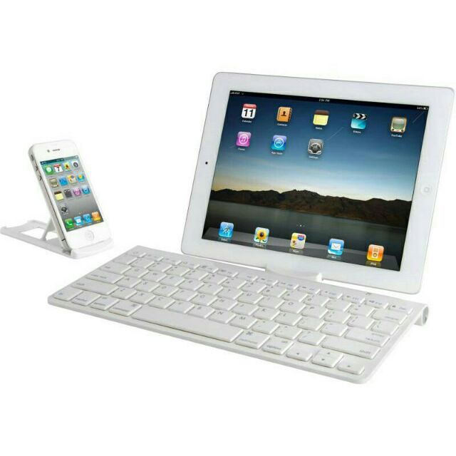 Bàn phím không dây Bluetooth cho điện thoại , máy tính bảng, iPad - 3161280 , 750852339 , 322_750852339 , 217000 , Ban-phim-khong-day-Bluetooth-cho-dien-thoai-may-tinh-bang-iPad-322_750852339 , shopee.vn , Bàn phím không dây Bluetooth cho điện thoại , máy tính bảng, iPad