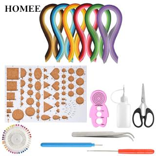Quilling Strips Kit All -in-one Paper 5mm Handcraft Tools For DIY Gorgeous