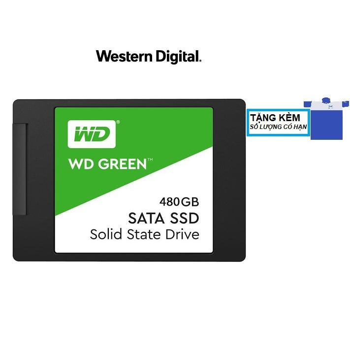 Ổ cứng SSD WD Green 480GB SATA III 2.5 inch (WDS480G2G0A)