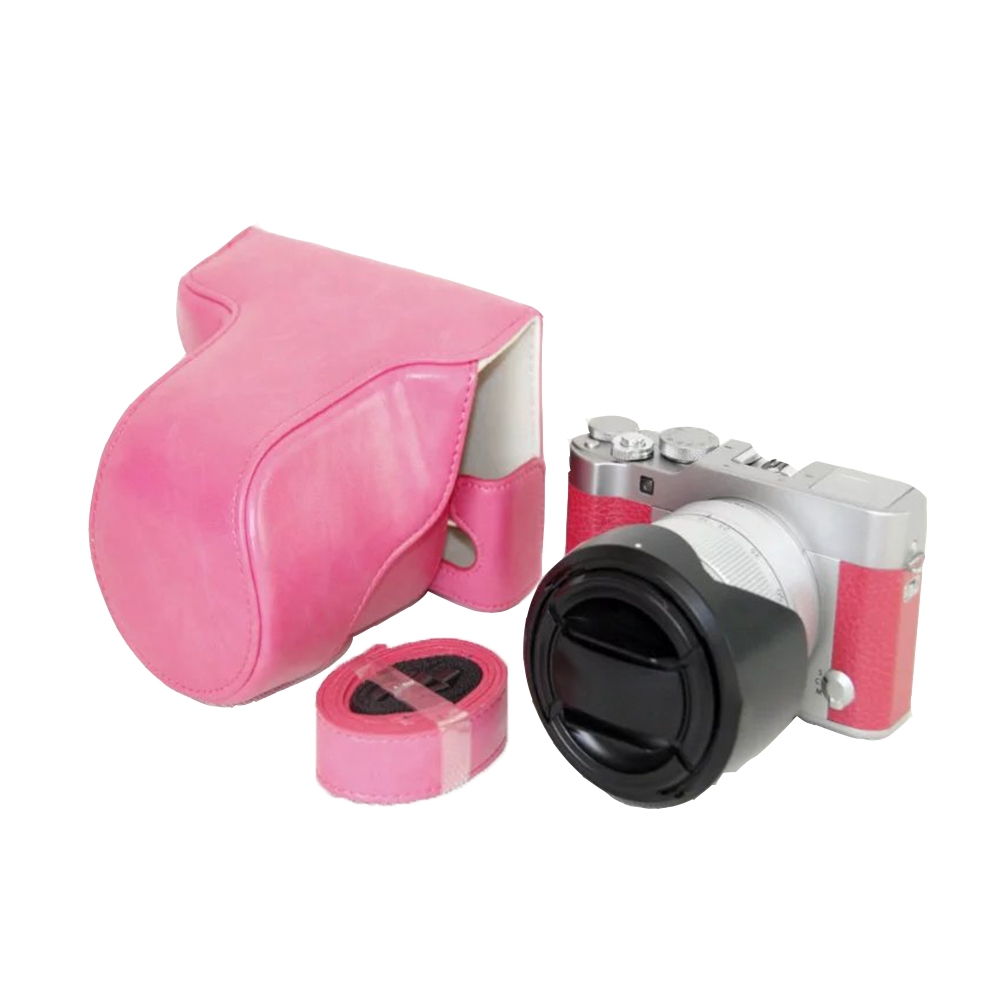 Waterproof Accessories Artificial Leather Scratch Resistant Protective Soft Mini Camera Case For Fujifilm XA5 XA3