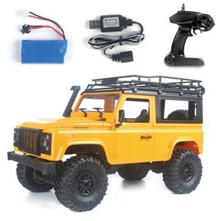 Xe ô tô 2 cầu Offroad Land Rover D90 4×4 1:12 – Rock Crawler – Bản RTR (Màu Cam)