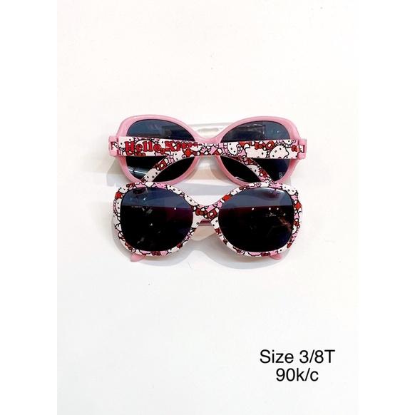 Kính chống nắng/ đi biển Hello Kitty cho bé gái giá rẻ