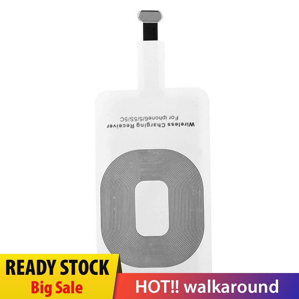 [walkaround] New For IPhone 5 5 c 5 s 6 6 s And 7 Wireless Charging Receiver Qi Coil