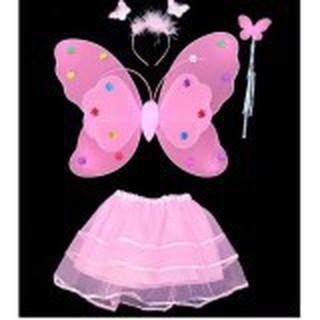Cánh bướm thiên thần cho bé (kèm chân váy)