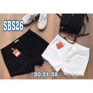 [55kg-95kg] Short jeans lụa co dãn Bigsize 30-41. Mã SBS 26. Khách ib để được tư vấn chọn size.