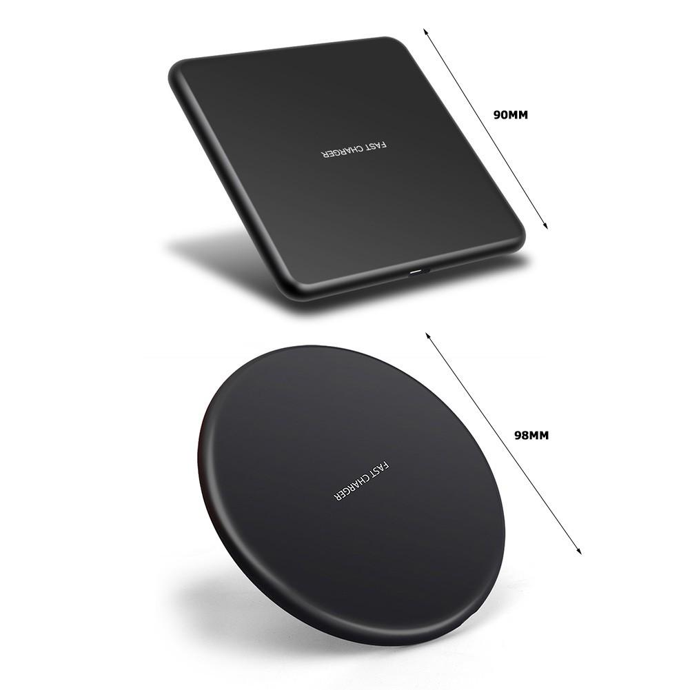 POWER SAMSUNG Đế Sạc Không Dây 10w Abs Cho Samsung S10 S8 S9 Note 9