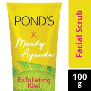 Pond's Exfoliating Kiwi Facial Scrub 100g