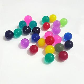 hạt nở 1 màu đạn thạch trang trí và làm slime hạt nở gói 1kg mã RKA29 OLINHPI