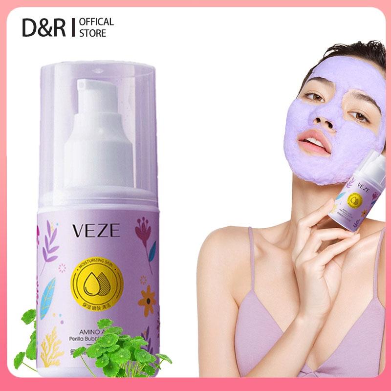 Amino Acid Bubble Clay Mask Pore Blackhead Oil Control Deep Cleansing Mask Plant Essence Face Acne Exfoliating Face Skincare