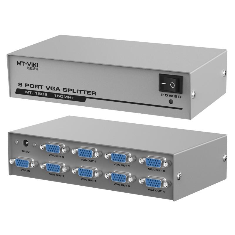 Bộ chia VGA 1 ra 8 MT VIKI - VGA 1x8 VIKI - Bộ chia VGA 1 ra 8 màn hình TV, máy chiếu - 3460146 , 999292649 , 322_999292649 , 279000 , Bo-chia-VGA-1-ra-8-MT-VIKI-VGA-1x8-VIKI-Bo-chia-VGA-1-ra-8-man-hinh-TV-may-chieu-322_999292649 , shopee.vn , Bộ chia VGA 1 ra 8 MT VIKI - VGA 1x8 VIKI - Bộ chia VGA 1 ra 8 màn hình TV, máy chiếu