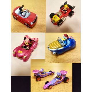 Combo 5 Xe Tomica Disney Mickey Minnie Donald Daisy RideOn Cars 2017