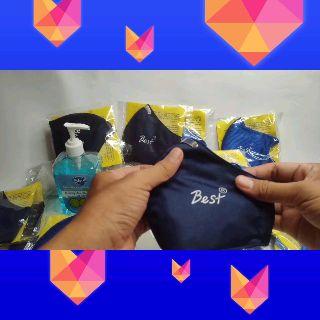 [KHÁNG KHUẨN] Khẩu Trang Vải Than Hoạt Tính Cao Cấp BEST® Ngăn ngừa bụi bẩn, cản gió, khử mùi, ngừa độc - koofox