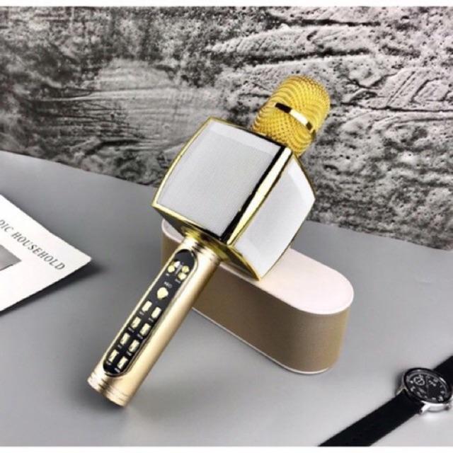 Micro Karaoke Bluetooth YS-91 Siêu Đỉnh BH 6 THÁNG