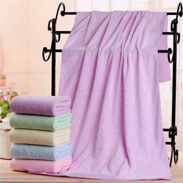 Khăn tắm xuât Nhật mềm mịn cực đẹp kt 140x70cm