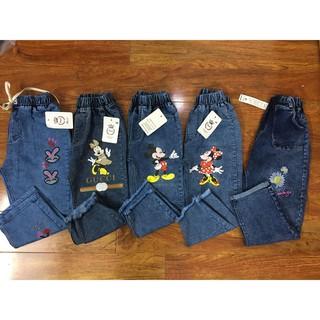 Quần ngố bò, quần ngố jean thời trang cho bé gái, co giãn 100%, bò rách mềm, giá siêu rẻ (ảnh thật 100%)