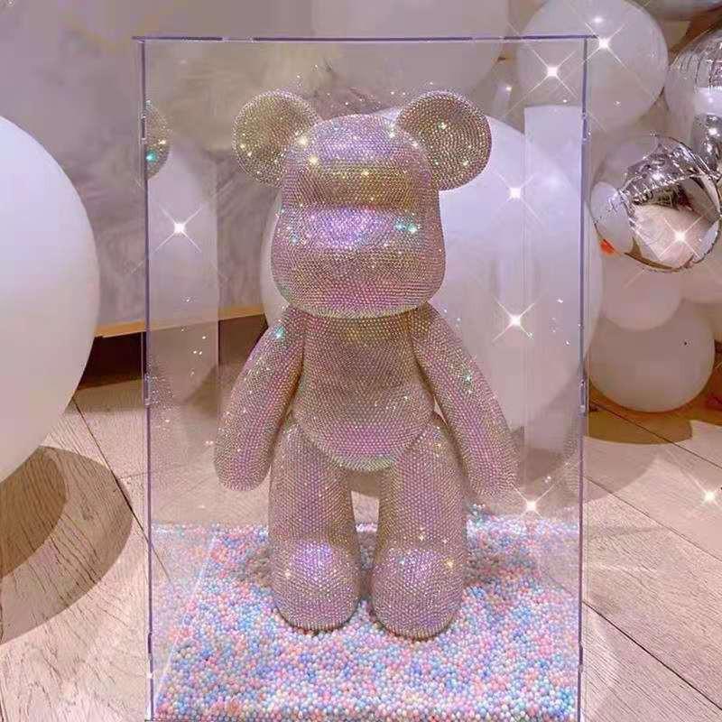 Gấu đính đá Big Sale Sẵn gấu giao luôn- đủ 15 màu gấu